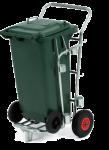 Chariot de ramassage de déchets