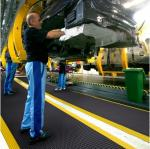 Tapis anti fatigue et industriel